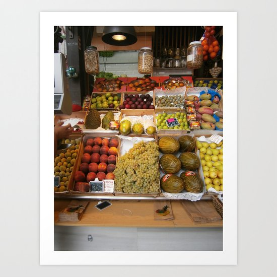 spanish produce  Art Print