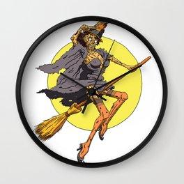 Pin up Zombie 02 Wall Clock