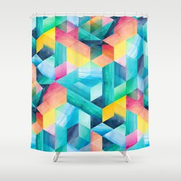 Reflections and Rainbows Shower Curtain