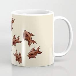 Coffee Bean Sharks Coffee Mug