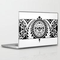 maori Laptop & iPad Skins featuring Maori by Raquel Gosalbez