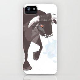 Spain Bull iPhone Case
