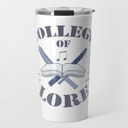 College of Lore Travel Mug