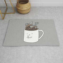 Brainstorming Coffee Mug Rug