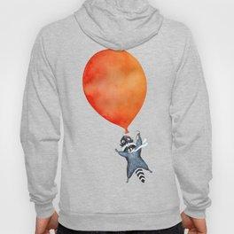 Raccoon and Balloon Hoody