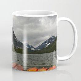 Two Medicine Lake With Sinopah Mountain Coffee Mug