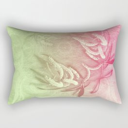 Pink and green wattle and kaleidoscope Rectangular Pillow