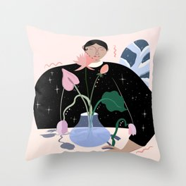 Arrange Throw Pillow