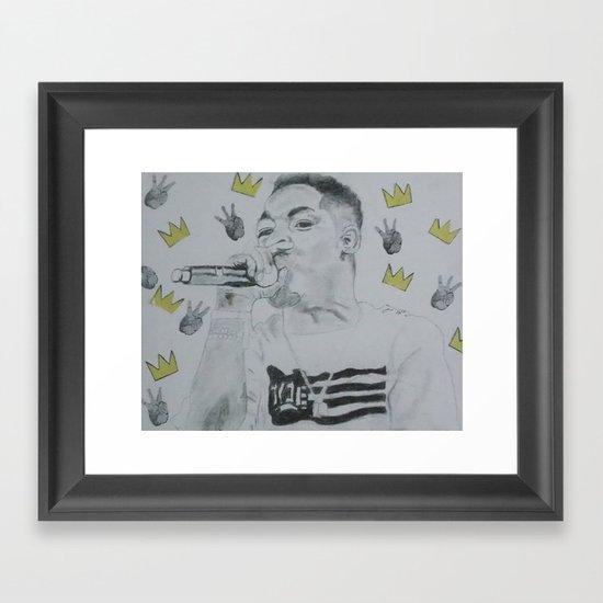 Samo Lamar Framed Art Print