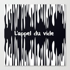 L'appel du vide Canvas Print