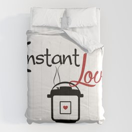 Instant Pressure Cooker Love with Steam Comforters