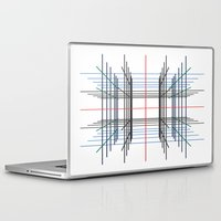 3d Laptop & iPad Skins featuring 3D by Jerry Watkins