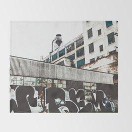 Detroit City Throw Blanket