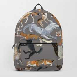 Wolves of the world 1 Rucksack