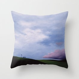 Letting Go Throw Pillow
