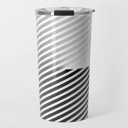 Stripes Can be in a Disc Travel Mug