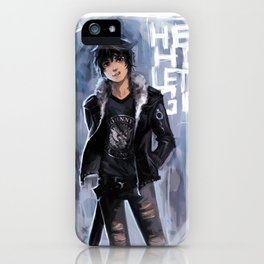 Punk Ghost King iPhone Case