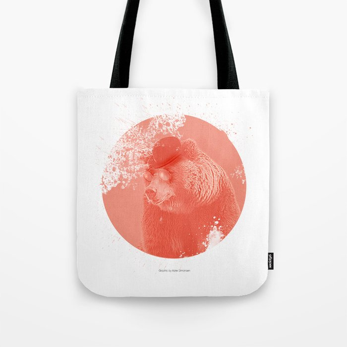 Stylish Bear Tote Bag
