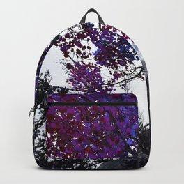 Purple Trees Backpack