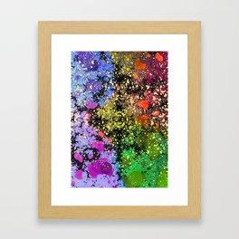 many dots III Framed Art Print