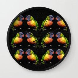 Bird talk Wall Clock
