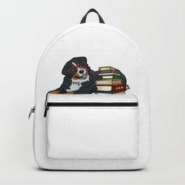 Bernese Mountain Dog Books Backpack