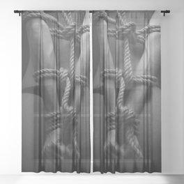 Bondage Sheer Curtain