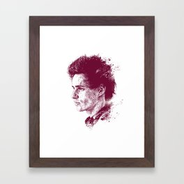 Eddie Redmayne Framed Art Print