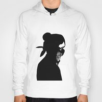rebel Hoodies featuring REBEL by Touvhe