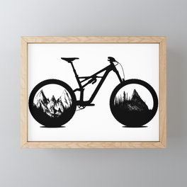 Enduro Framed Mini Art Print