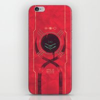 dead space iPhone & iPod Skins featuring Dead Space by Hector Mansilla