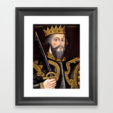King William I, The Conqueror Framed Art Print
