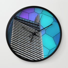 Gran Via Alien Wiew Wall Clock
