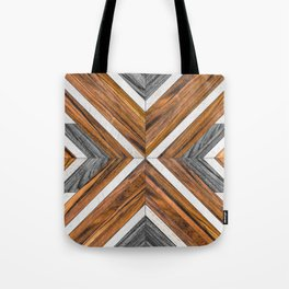 Urban Tribal Pattern No.4 - Wood Tote Bag