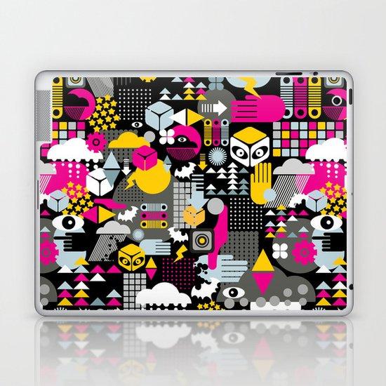 Abstract. Laptop & iPad Skin