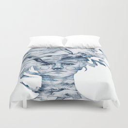 I am the sea and nobody owns me Duvet Cover