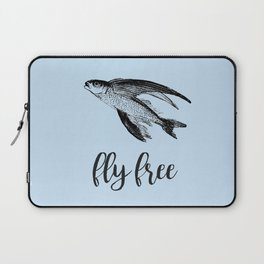 Fly Free Fish Laptop Sleeve