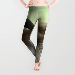 "William-Adolphe Bouguereau ""Equality Before Death"" Leggings"