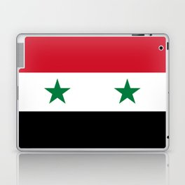 National flag of Syria Laptop & iPad Skin