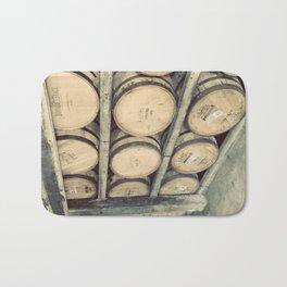 Kentucky Bourbon Barrels Color Photo Bath Mat