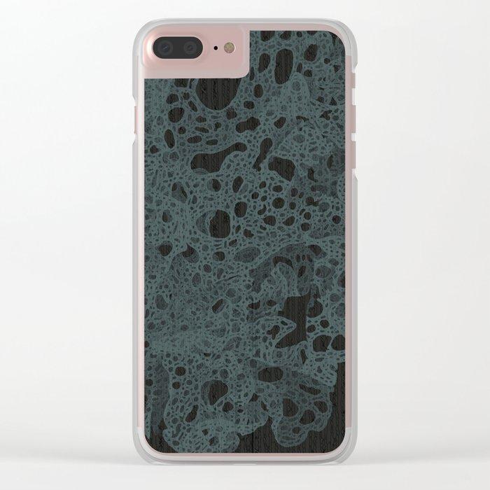 Dark Matter Clear iPhone Case
