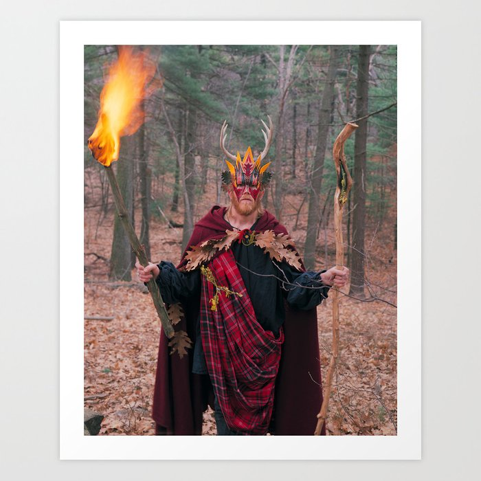 The Man of Wands Art Print