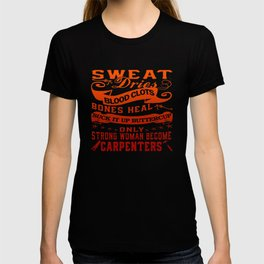 Carpenter Woman T-shirt
