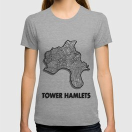 Tower Hamlets - London Borough - Detailed T-shirt