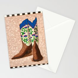 Cowgirl up! Stationery Cards