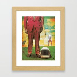 Flyman Framed Art Print
