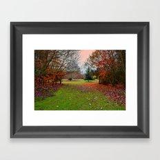 Autumn Leaves (4) Framed Art Print