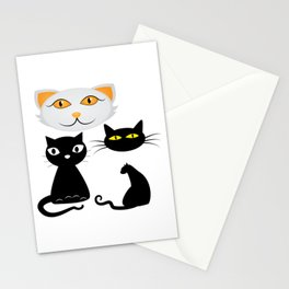 Funn Cats Stationery Cards