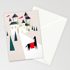 The horse and his castle Stationery Cards