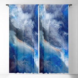 Proteus Abstract Fluid Painting Blackout Curtain